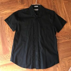 Express Men's Fitted Button Down